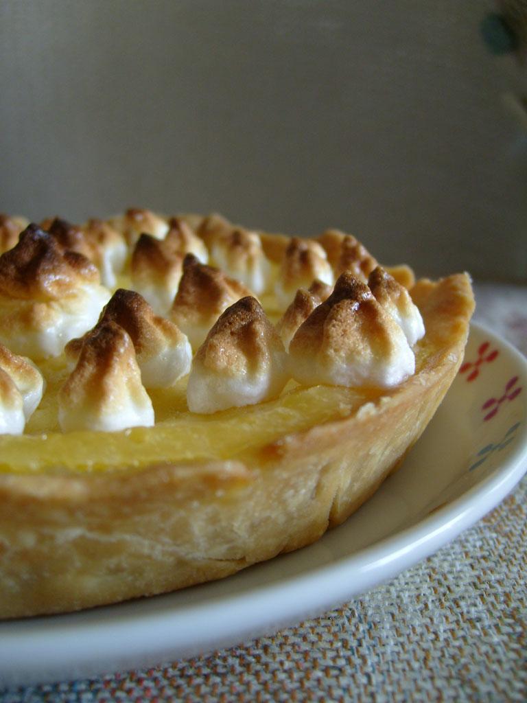 La cuisine de b linda tarte au citron meringu e - Tarte au citron meringuee herve cuisine ...