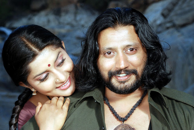 Mambattiyan Movie Prasanth and Meera Jasmine Still 4