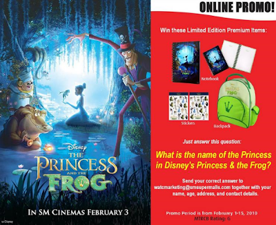 The Princess and the Frog Online Promo