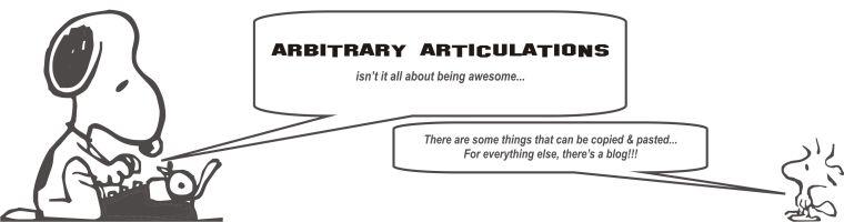 arbitrary articulations