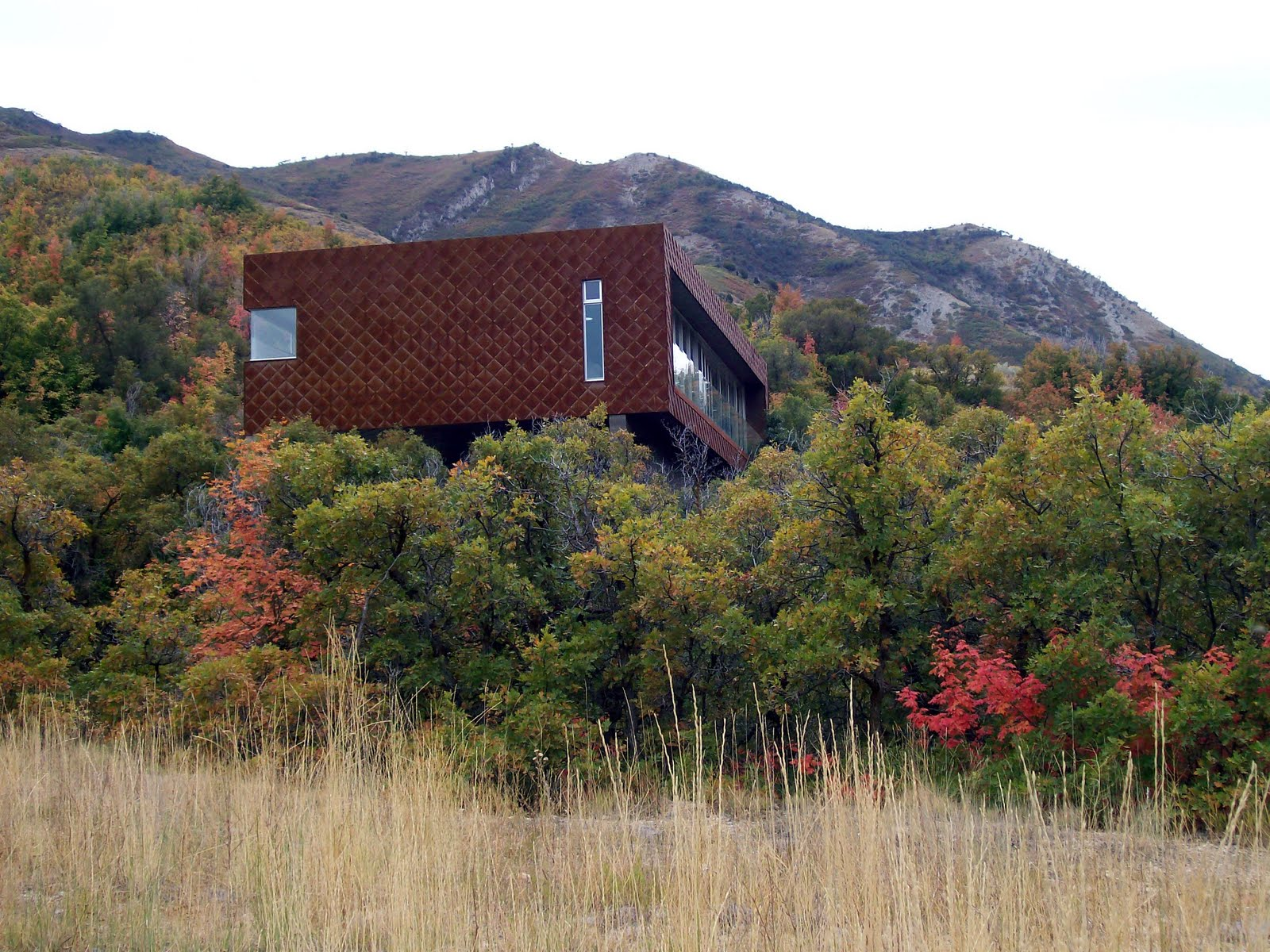 Last October While Exploring Emigration Canyon, I Randomly Came Upon This  Home And Was Blown Away By Its Stark Simplicity And Beauty. Design Inspirations