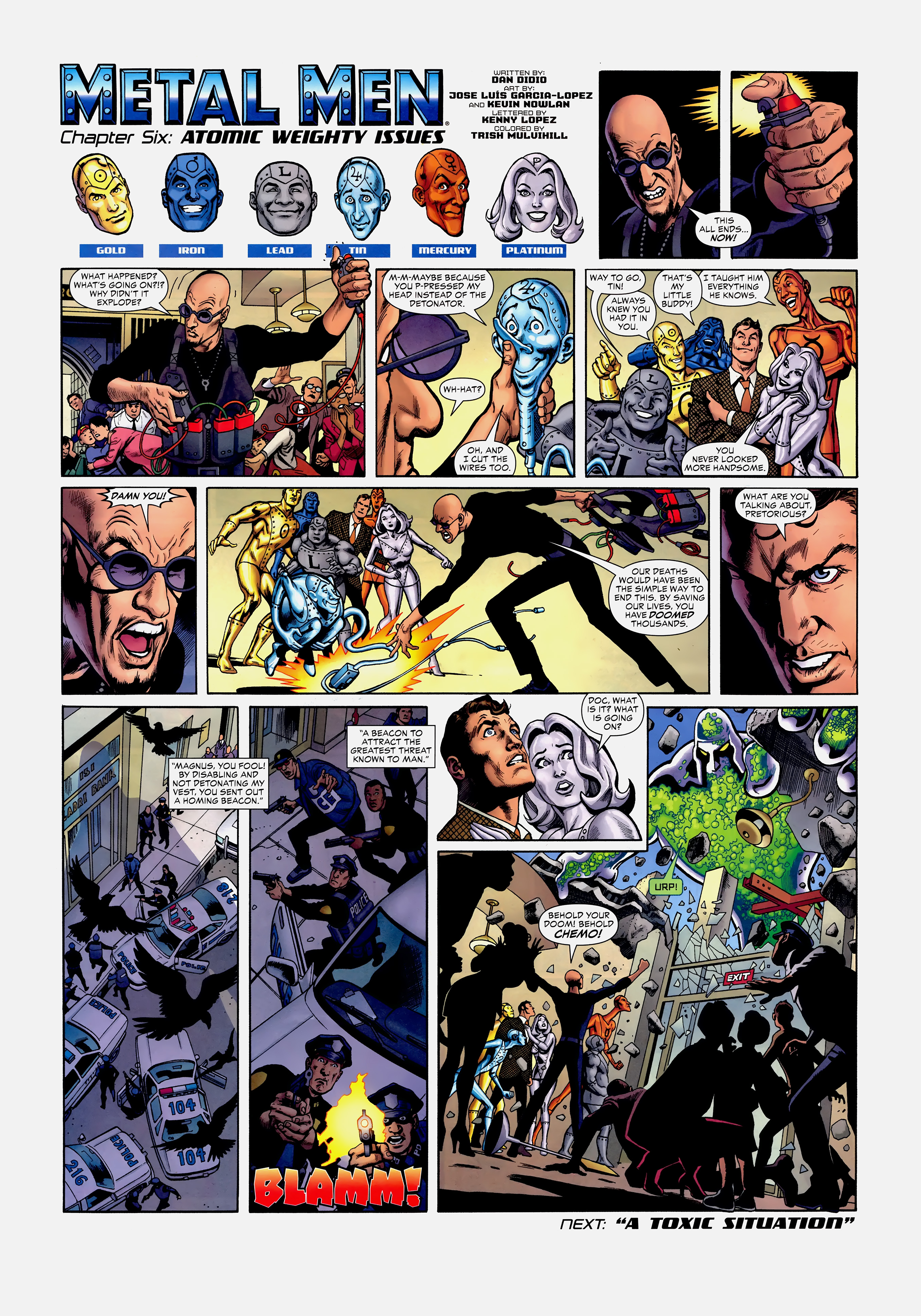 Read online Wednesday Comics comic -  Issue #6 - 11