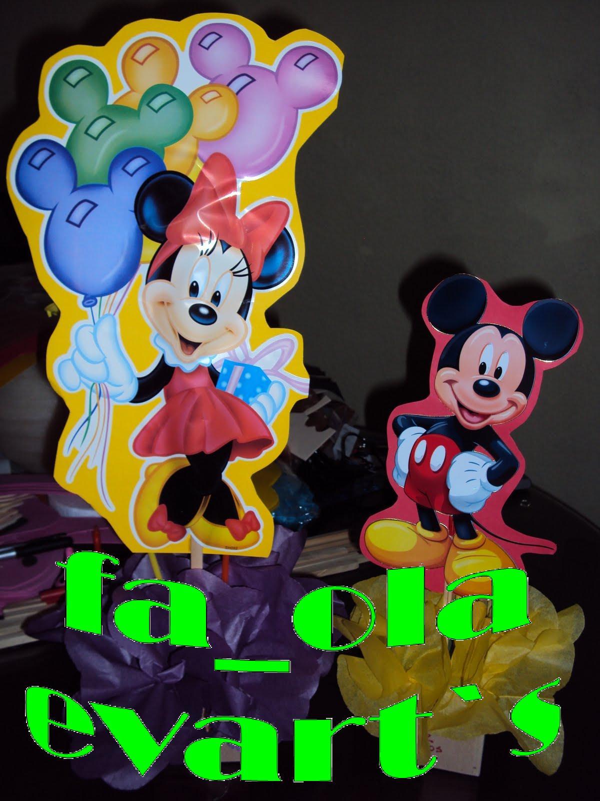 Centro De Mesa De Mickey Mouse