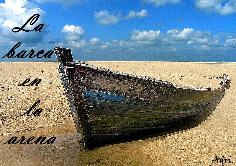 La barca en la arena