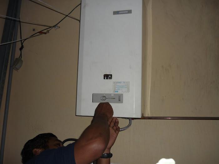 Mantenimiento de Calentador de Paso