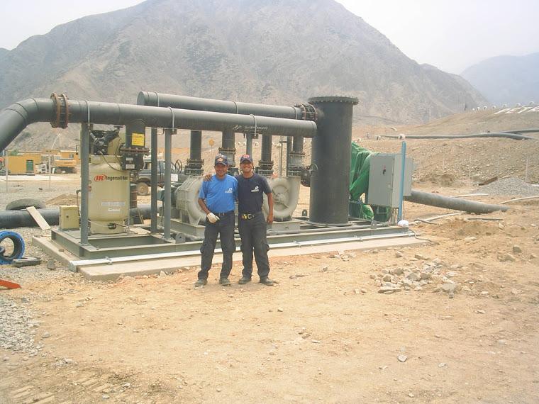 Personal Tecnico en Planta de Gas Natural