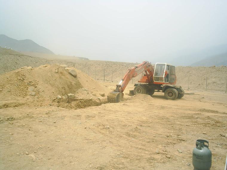Escavación para Empotrar Tubería de Gas