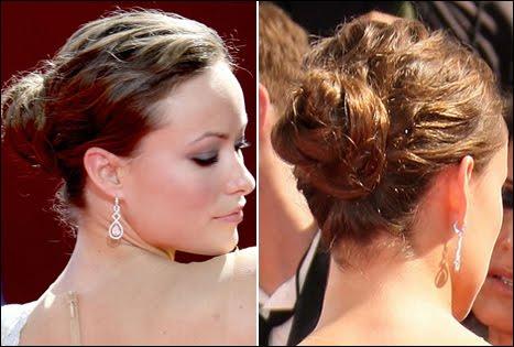 Olivia Wilde Updo Hairstyle