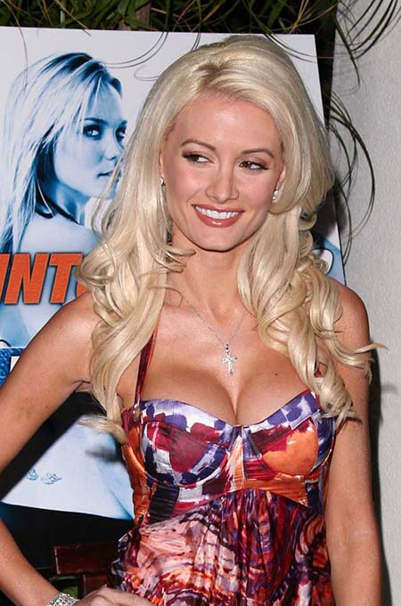 holly madison breast