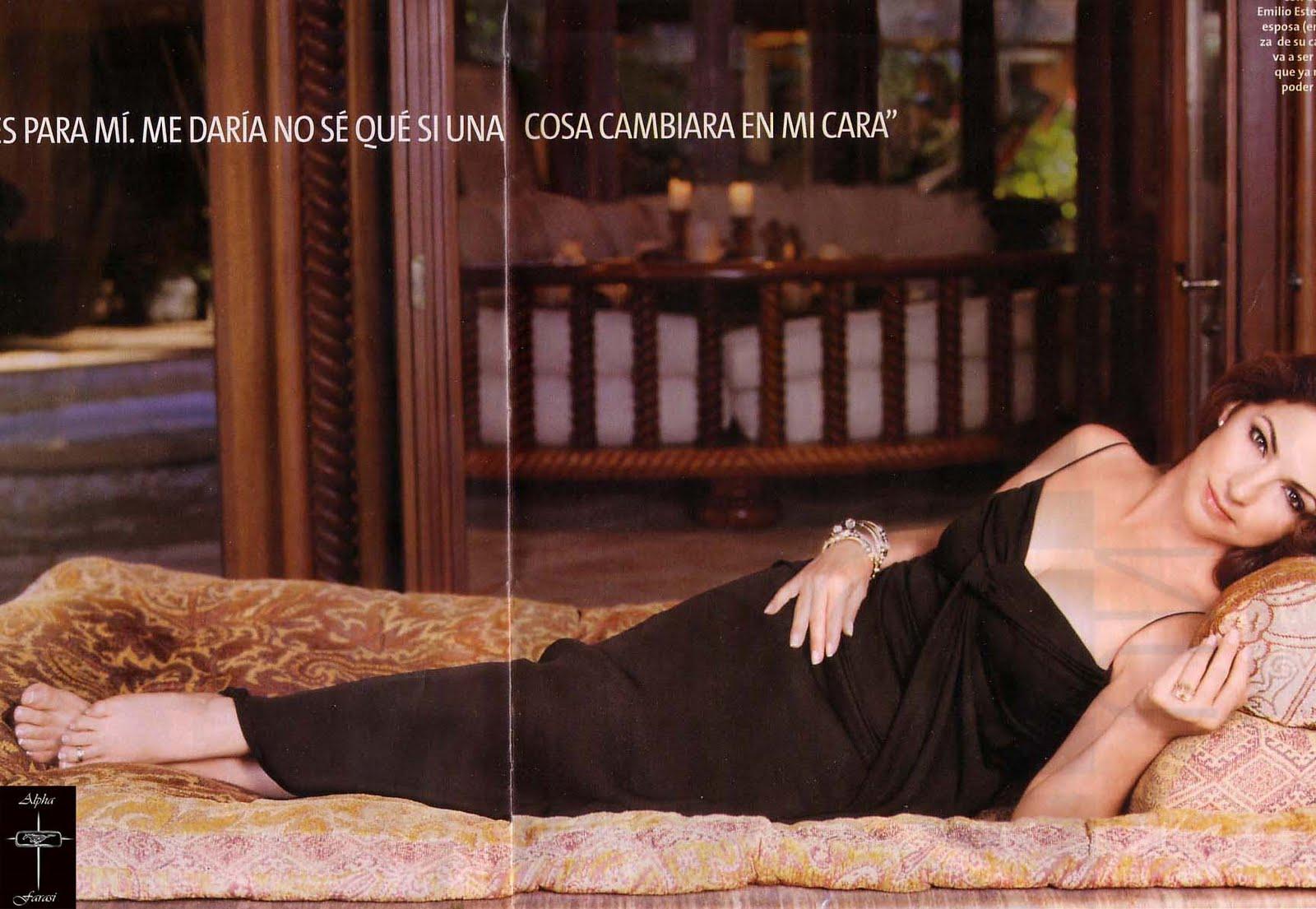 Celebrity Feet Magazine Gloria Estefan Feet