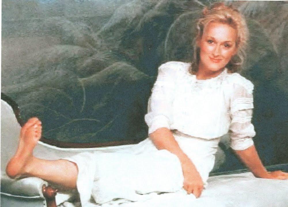 Hollywood Star Feet: Meryl Streep - 92.4KB