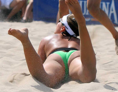 Misty May-Treanor is a wonderful American professional volleyball player and
