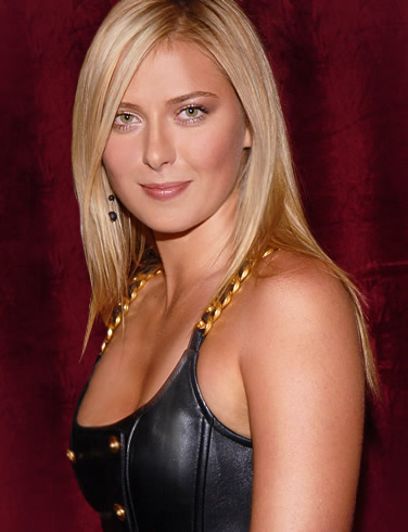 maria sharapova breast