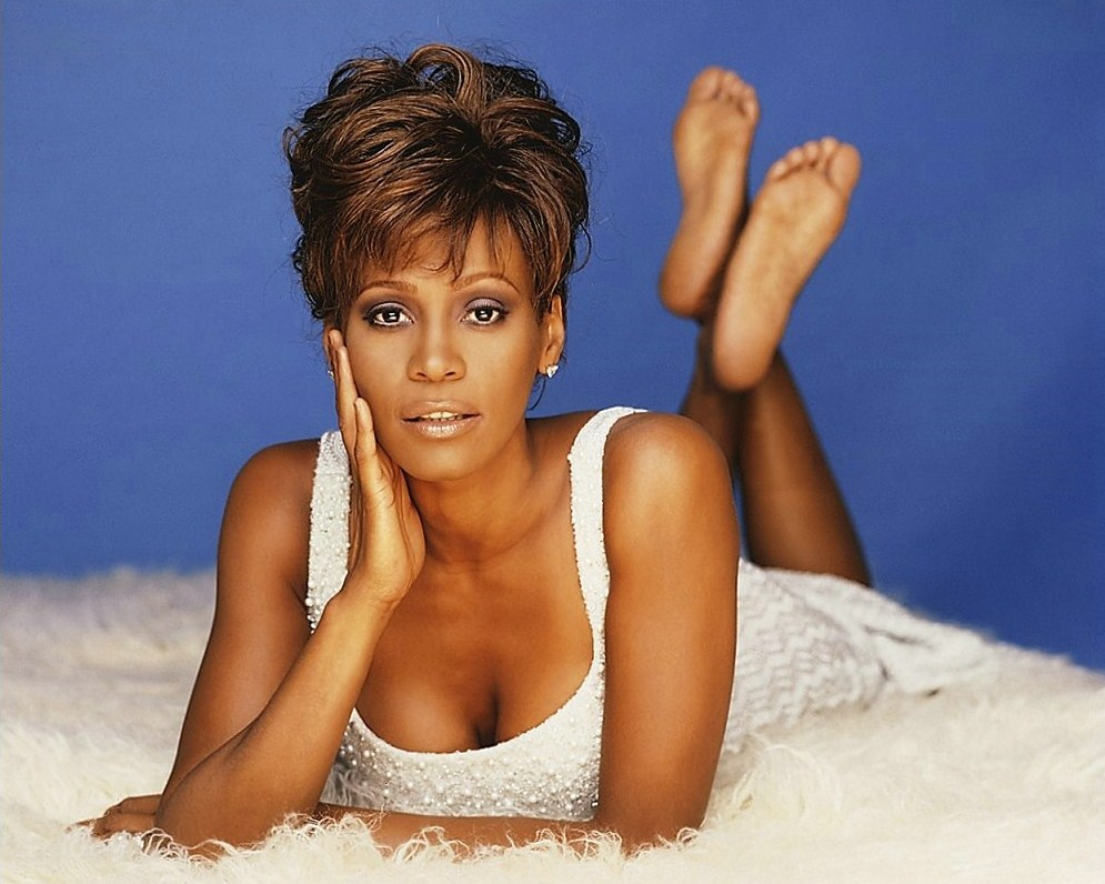 Whitney Houston Feet Kimchi for breakfast