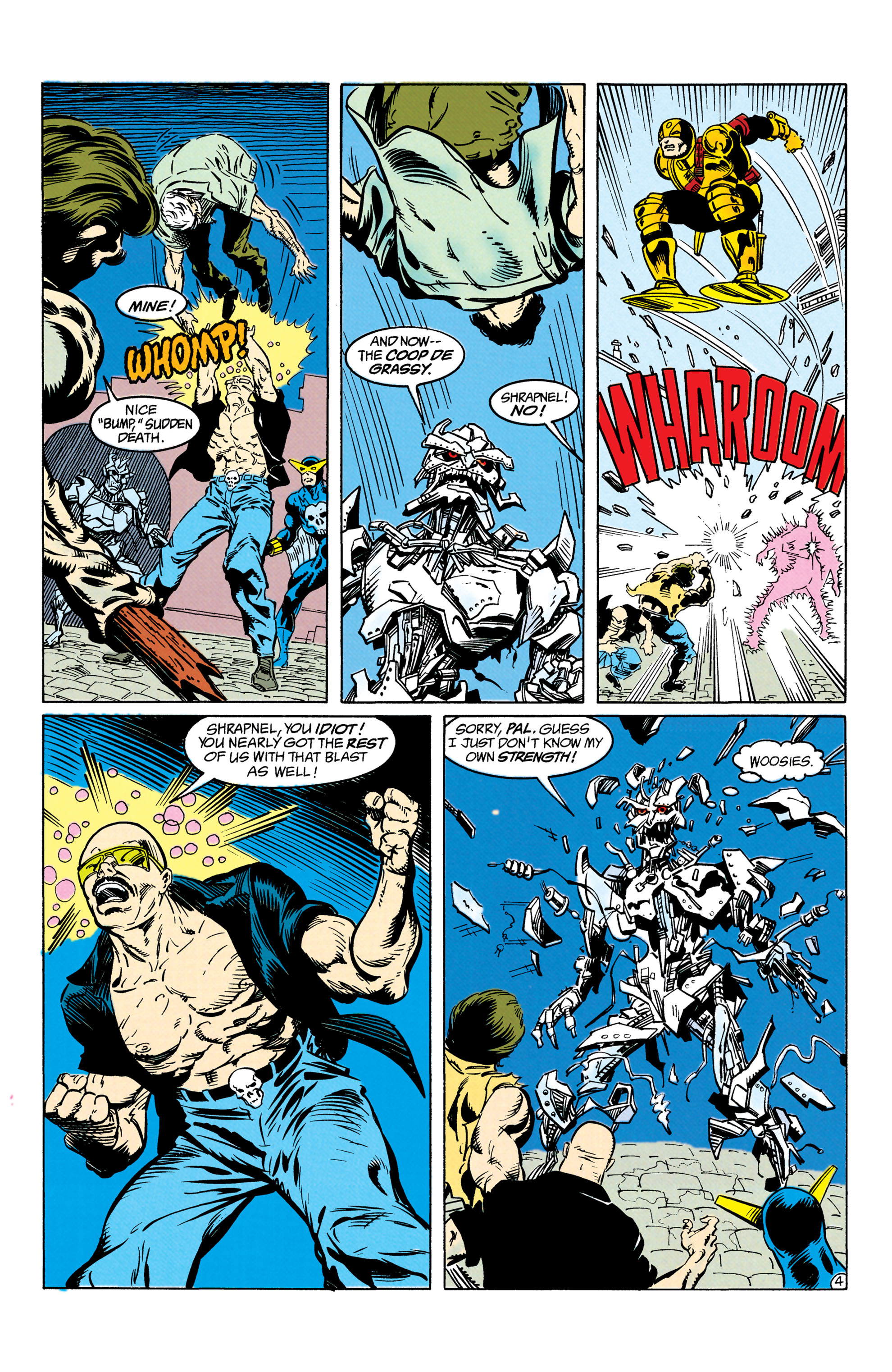 Read online Suicide Squad (1987) comic -  Issue #63 - 5