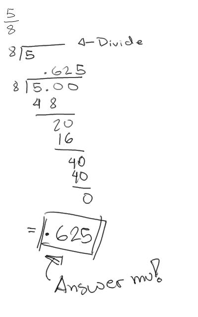 Kolokyal Math: Fraction to Decimal / Decimal to Fraction