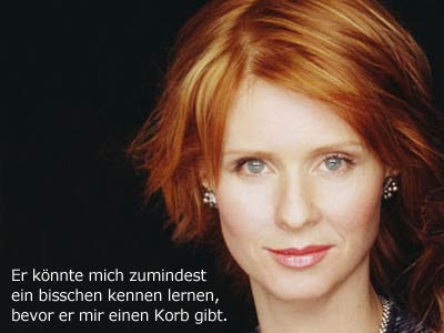 sex and the city zitate miranda hobbes zitate. Black Bedroom Furniture Sets. Home Design Ideas