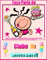 Clubinho do aniversário!