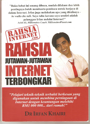 Rahsia jutawan Internet, irfan khairi