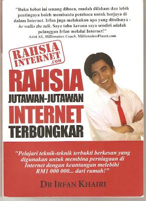 Rahsia jutawan Internet, irfan khairi
