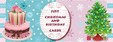I'm designing for the X-mas and B-day cards Challenge