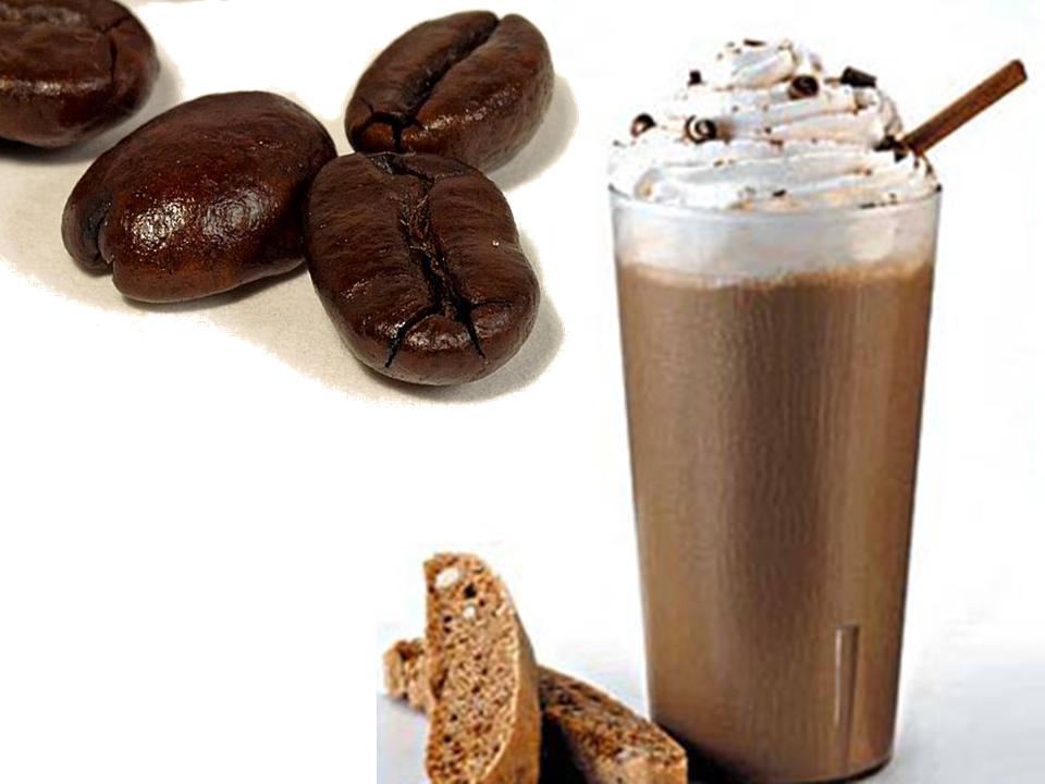 ice cream lovers: Black Iced Coffee