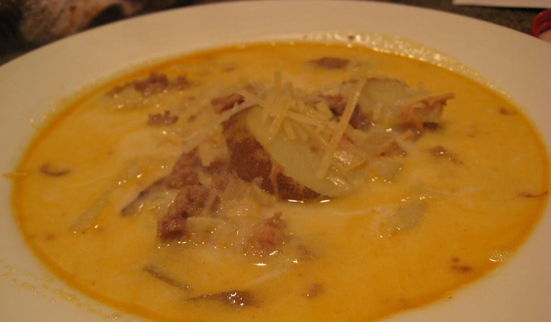 Mcconkie Menu Olive Garden 39 S Zuppa Toscana Copycat