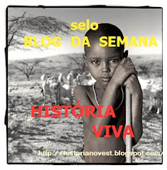Selo atribuído pelo Blog: História Viva