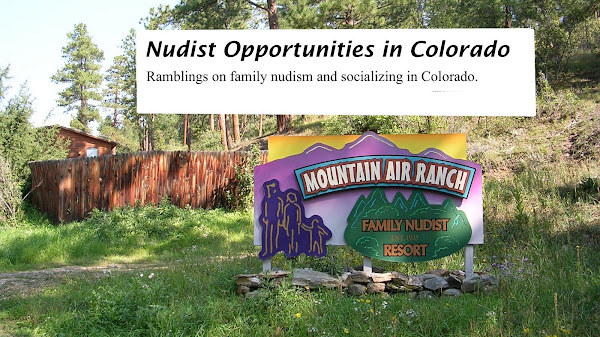 Nudist Opportunities in Colorado