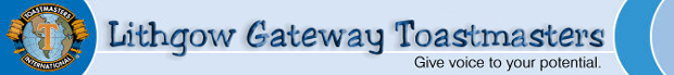 Lithgow Gateway Toastmasters Blog