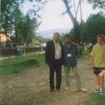 cu poetul Vasile Matola la Festivalul de Umor - Ucraina 2007