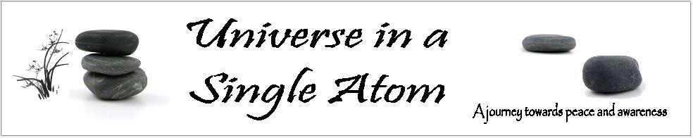 Universe in a single atom