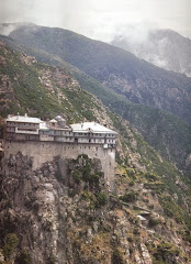 Manastirea Simonos Petra - Athos