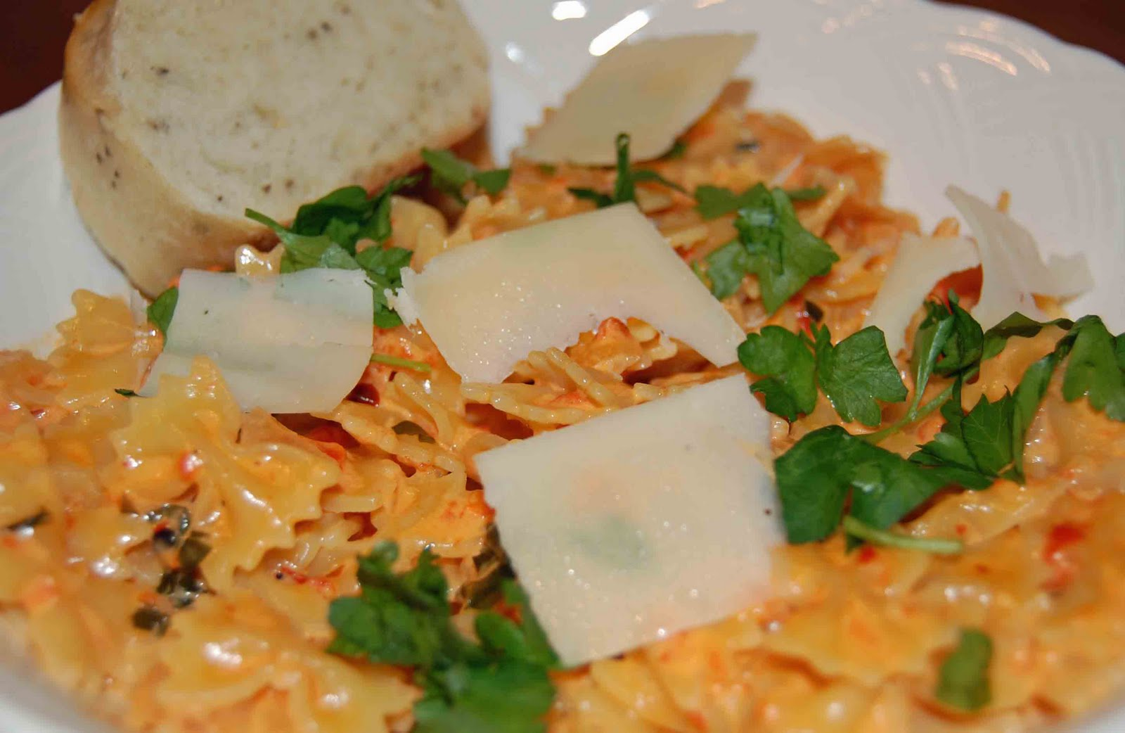 ... roasted red pepper and cream sauce pasta with roasted red pepper sauce