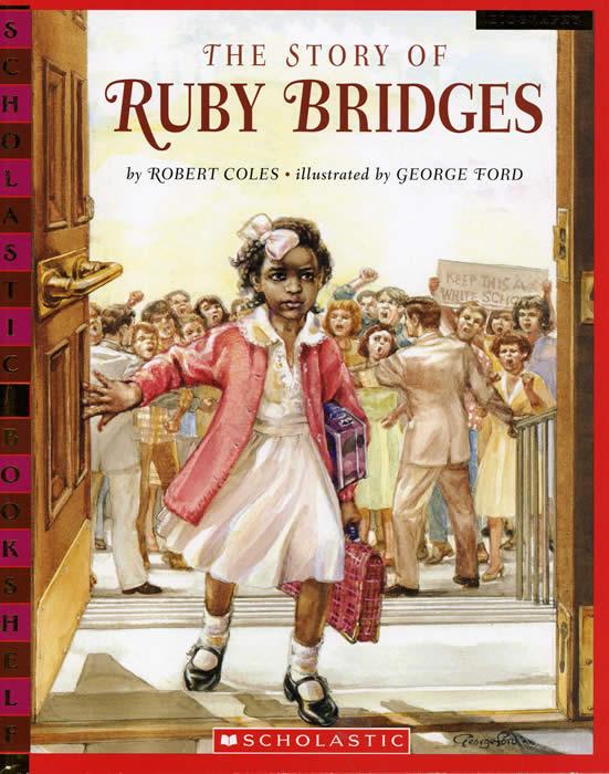 ruby bridges two four six eight En su primer día fue recibida con insultos y gritos de todo tipo, con pancartas con  la consigna: «two, four, six eight, we don't want to integrate».