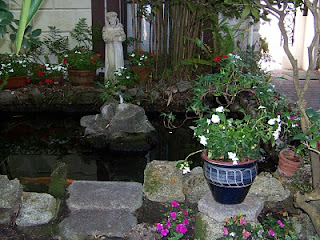 Courtyard Garden Makeover 15  Courtyard+and+Pond+Gardens+007 St. Francis Inn St. Augustine Bed and Breakfast