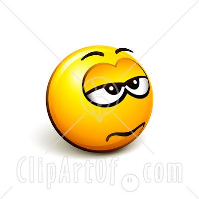 grumpy face clip art. Confused+face+emoticon