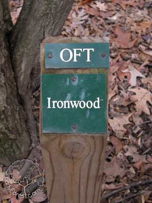 OFT Ironwood Sign