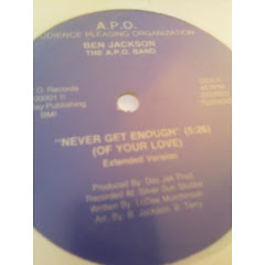BEN JACKSON - never get enough 198x