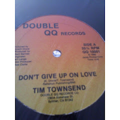 TIM TOWNSEND -  dont give up on love