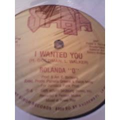 ROLANDA O - i want you 198x