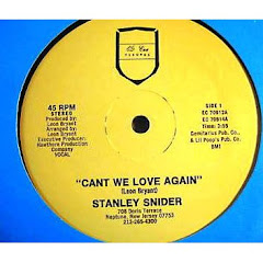 STANLEY SNIDER - can't we love again 198x