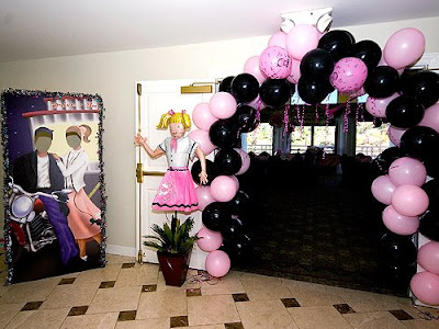 themed first birthday party held at the Braemar Country Club in Tarzana,