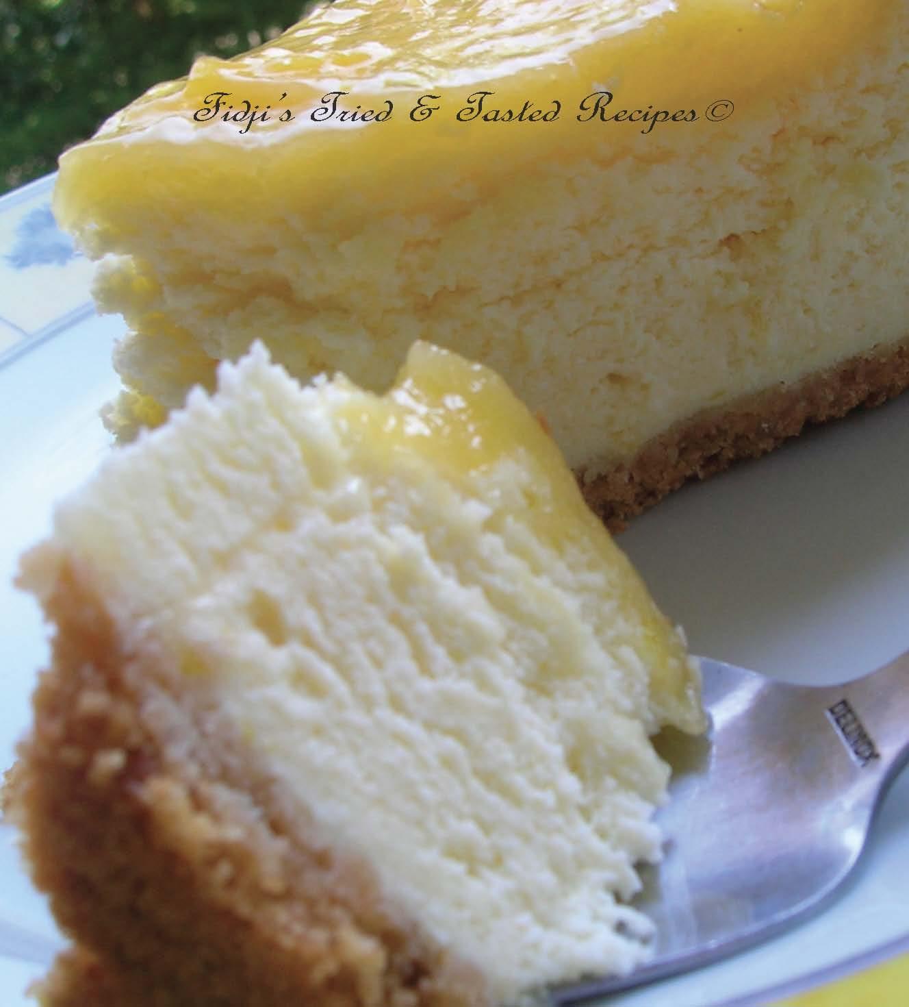Low Sugar Lemon Sponge Cake