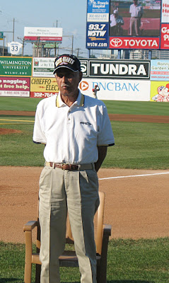 Bert Simmons at the 2008 Judy Johnson Foundation Night