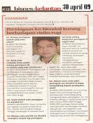 @sinar harian edisi Kelantan 30 april 2009