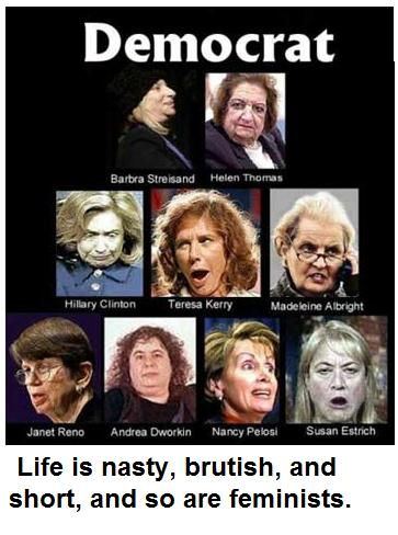 ugly democratic women
