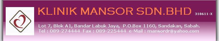 Program Langsing di Klinik Mansor