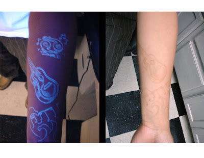 wizard blacklight UV tattoo ink (click here)