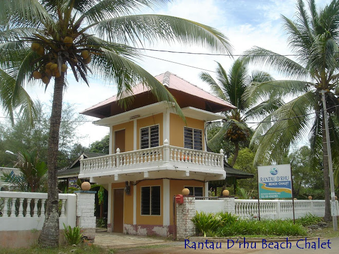 "WELCOME TO  ""  Rantau D'rhu Beach Chalet  """